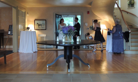 Wedding facilities available for rent at historic Prowse Farm